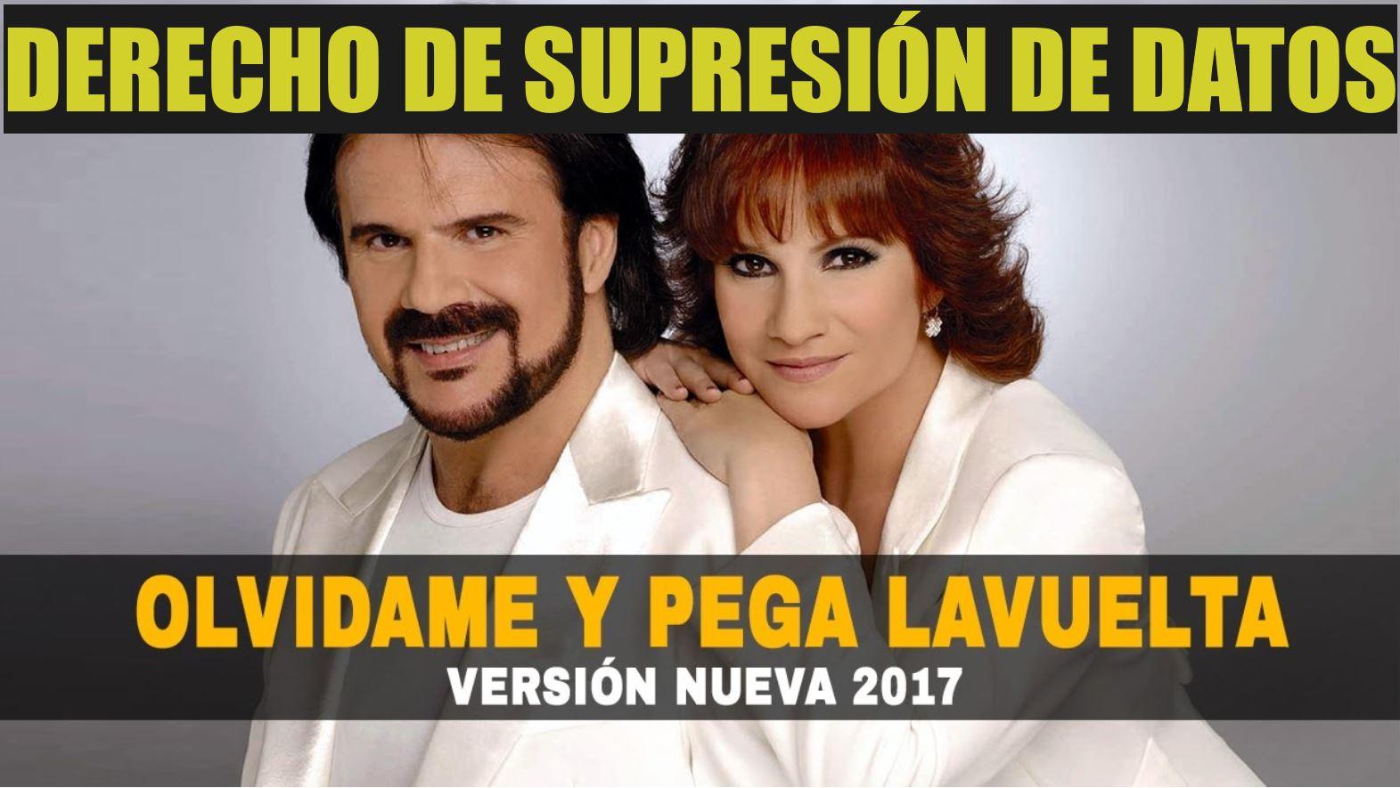 DERECHO DE SUPRESIÓN