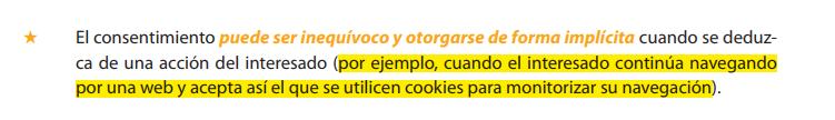 RGPD y cookies
