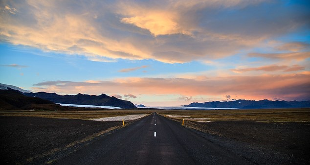 Road to Iceland