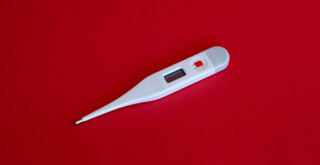 toma de temperatura