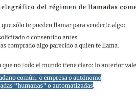 spam autonomos LOPD