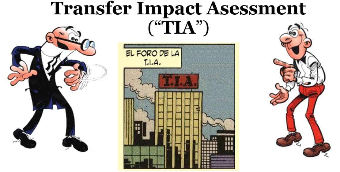 Transferencia internacional de datos. Recomendaciones 1/2020